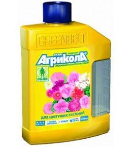 Агрикола для цветущих растений.