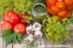 Рецепты домашнего консервирования помидор (томатов).