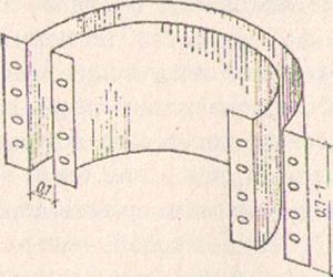 Рис. 2. Скользящая опалубка из листового железа