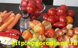 Горлодер дамский с яблоками и морковью
