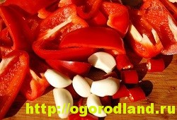 Горлодер из помидор со сладким и жгучим перцем