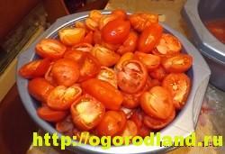 Горлодер из помидоров