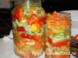 Ассорти из овощей на зиму.