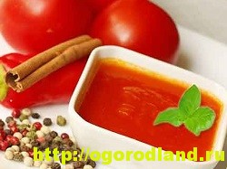 Домашний кетчуп.