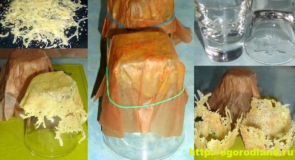 Приготовление сырных тарталеток