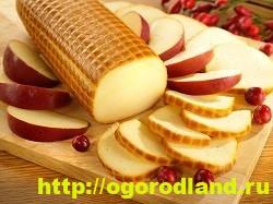 Колбасный сыр для начинки печеночного рулета