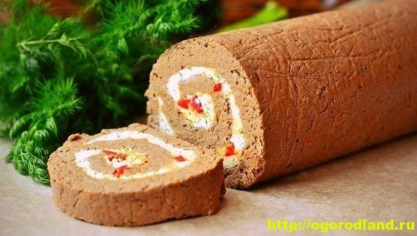куриный рулет с печенью рецепт приготовления