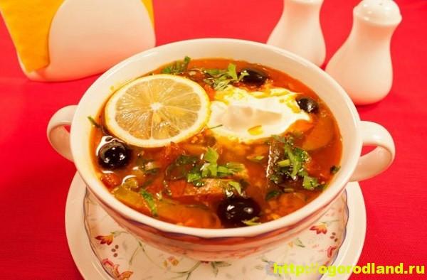 солянка c картошкой и оливками рецепт