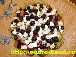 Салат «Греческий». Классический пошаговый рецепт с фото 11