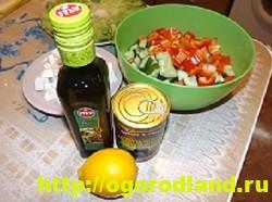 Салат «Греческий». Классический пошаговый рецепт с фото 7