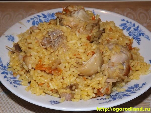 Плов рисовый по-домашнему