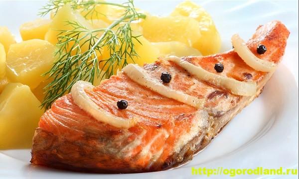 также смотреть стейки семги запеченные в духовке с картошкой хрустящей