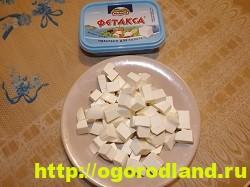 Салат «Греческий». Классический пошаговый рецепт с фото 6