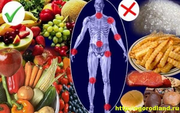 Артрит. Еда от боли в суставах 1