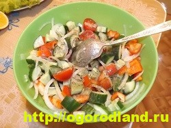 Салат «Греческий». Классический пошаговый рецепт с фото 10