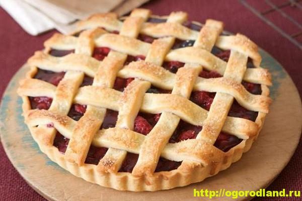 Пирог с ягодами из песочного теста. Рецепт приготовления