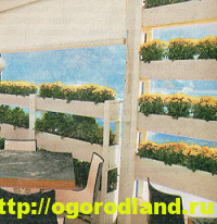 Декоративный огород. Как сделать вертикальные грядки 3