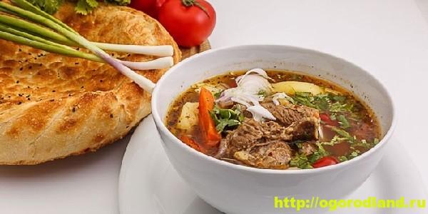 Суп из баранины с овощами. Рецепт приготовления