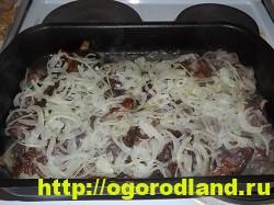 Картошка с мясом в духовке по-капитански. Пошаговый рецепт 9