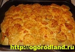Картошка с мясом в духовке по-капитански. Пошаговый рецепт 16
