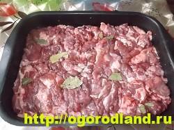 Картошка с мясом в духовке по-капитански. Пошаговый рецепт