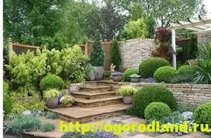 Прекрасный средиземноморский сад