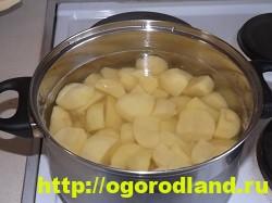 Картофель в духовке, запеченный кусочками 4