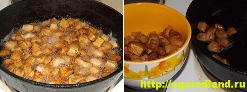 Картофель в духовке, запеченный кусочками 9