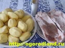 Картофель в духовке, запеченный кусочками 2