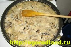 Голубцы. Рецепт голубцов с картошкой под грибным соусом 5