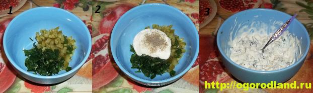 Картофельная запеканка с мясом и сливочным соусом