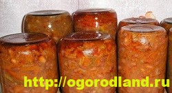 Салаты на зиму. Пять вкусных салатов из овощей на зиму 4