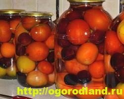 Зеленые помидоры на зиму. Рецепты консервирования 7