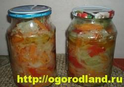 Салаты из зелёных помидоров. Рецепты на зиму