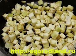 Баклажаны на зиму. Слоеный салат из баклажанов с морковью 4