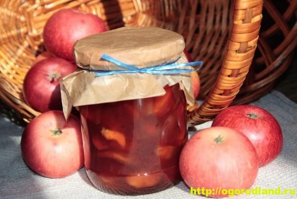 Варенье из яблок. Подборка рецептов заготовок на зиму 7