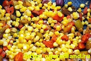 Рис с овощами – изумительный гарнир. Рецепт с фото