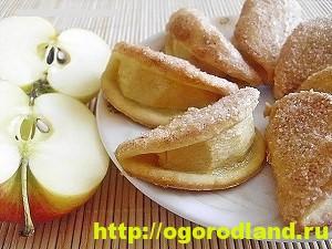 Домашняя кулинария. Пять рецептов вкусной выпечки с яблоками 4