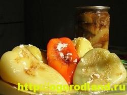 Консервирование сладкого перца. Рецепты на зиму