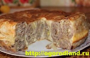 Пирог с баклажаном. Четыре простых и вкусных рецепта выпечки 5