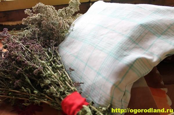 Подушка для сна с травами своими руками
