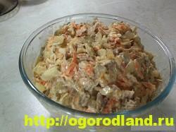 Салаты с курицей. Рецепты вкусных салатов на праздник 3