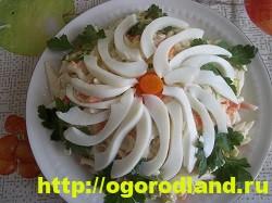Салаты с крабовыми палочками. Рецепты праздничных салатов 19
