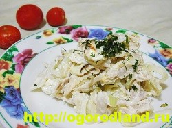 Салаты с курицей. Рецепты вкусных салатов на праздник 6
