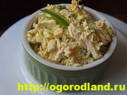 Салаты с курицей. Рецепты вкусных салатов на праздник 9