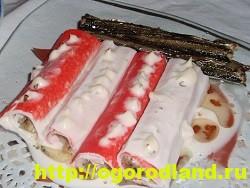 Закуски с крабовыми палочками. Семь оригинальных рецептов