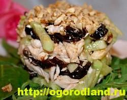 Готовим салаты с курицей. Подборка рецептов вкусных салатов 4