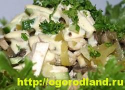 Готовим салаты с курицей. Подборка рецептов вкусных салатов 10