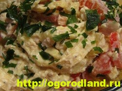 Готовим салаты с курицей. Подборка рецептов вкусных салатов 6
