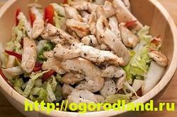 Готовим салаты с курицей. Подборка рецептов вкусных салатов 9
